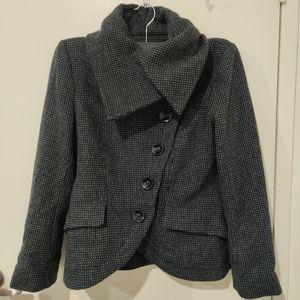 75%wool winter crop Jacket 🧥 by Zara